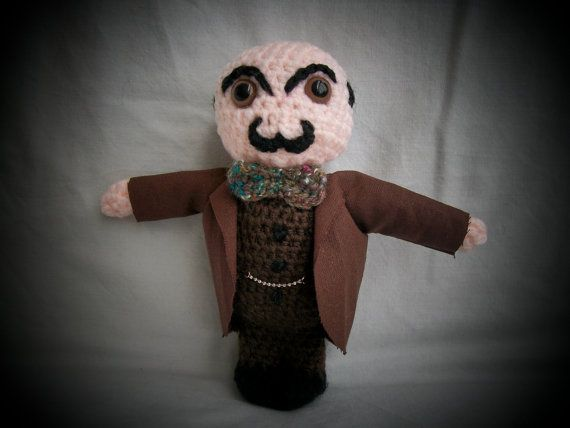 OMG OMG OMG!!!!!   Hercule Poirot  your very own little by SnorkersImaginarium, £40.00