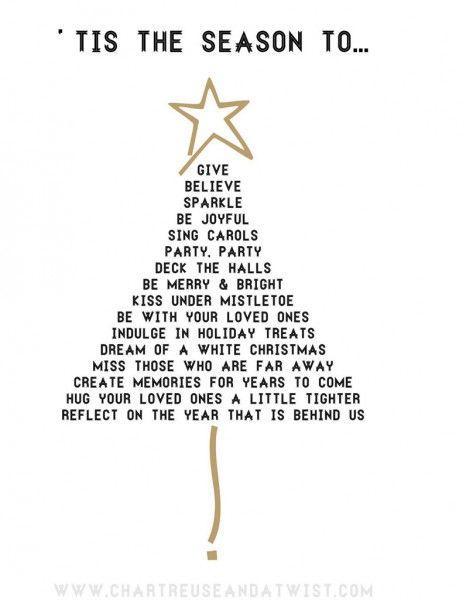 Un sapin poème - Noël express : 40 idées de dernière minute - Elle