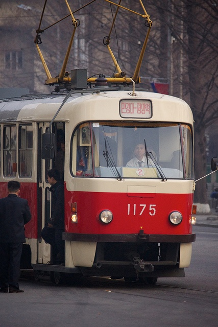 Tram - North . We have these exact trams in |Prague. They came from Soviet Union.