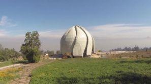 Dramatic footage captures Chile Temple developments - Bahá'í World News Service