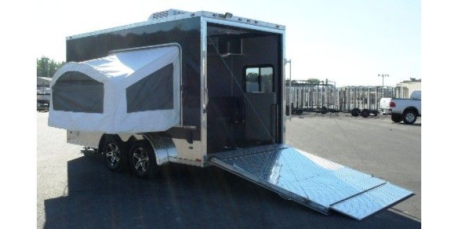 Stealth introduces Northwoods toy hauler   RV Daily Report   Breaking RV Industry News and Campground Information