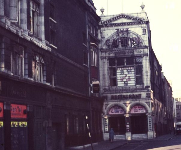 Capital Cinema, Prince's Street, Dublin 1, demolished.