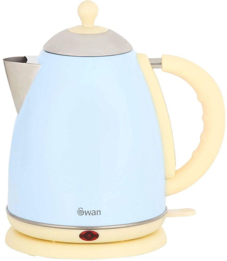 Bring a bit of style to your kitchen. If you want to bring some style to your kitchen, the SK261050BLN kettle from Swan is ideal. In blue and cream, it has a country feel about it, and is sure to make a statement in your kitchen. | eBay!