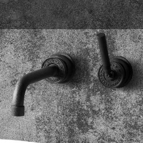 JEE-O | Wandarmatur Soho | Hammerschlag schwarz matt | Grand & Johnson