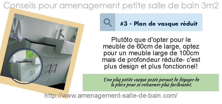 Best 25 salle de bain 3m2 ideas only on pinterest - Amenagement petite salle de bain 2m2 ...
