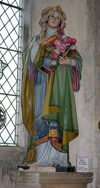 St Elizabeth of Hungary - St Nicholas Church, Blakeney, Norfolk by Whipper_snapper, via Flickr