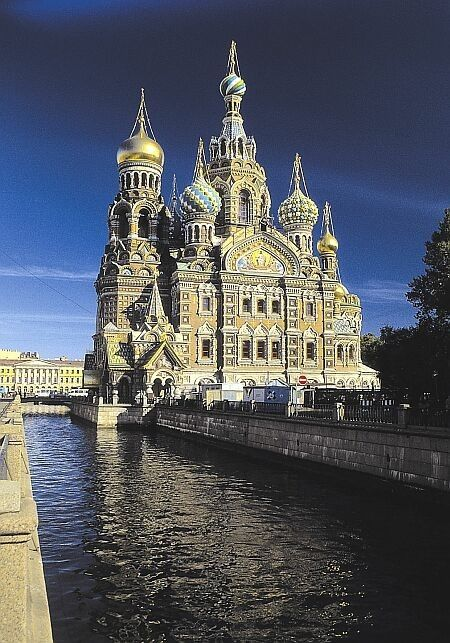 Church on Spilled Blood.  St. Petersburg, Russia by carter flynn