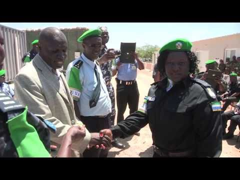 FOCUS ON SOMALIA: Sierra Leone Police Medal Parade - Ep.4 - Members of the Sierra Leonean Police Force serving under the African Union Peacekeeping Mission in Somalia (AMISOM), have been awarded with medals of service in the country's capital Mogadishu.