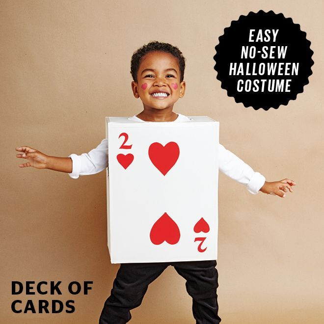51 Kid Halloween Costumes That Are Easy To Make Card Costume Sew Halloween Costume Cardboard Costume