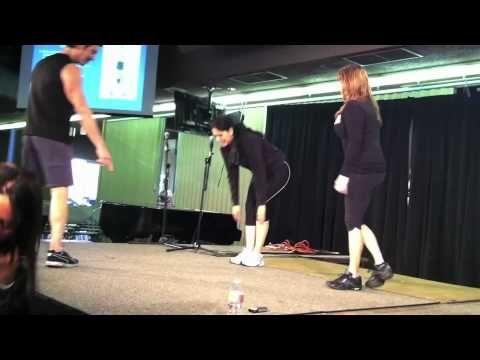 Tony Horton teaching women how to not do girly pushups! Need this for Power 90.