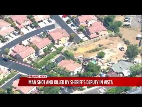 Man Dies After Being Chased, Shot by San Diego Deputies in Vista   Fox 5...