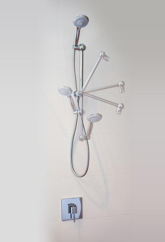 The worlds most adjustable shower www.ezyfix.com.au