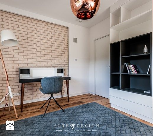 Mieszkanie w Gdańsku - Gabinet, styl nowoczesny - zdjęcie od Arte Dizain