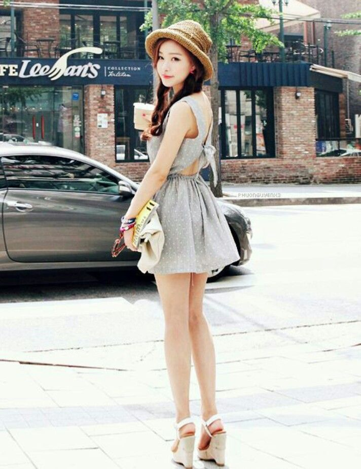 Cute Asian with Cute Dress – fashion dresses