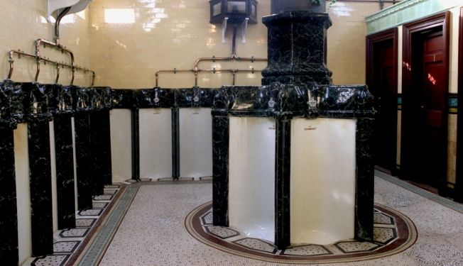 The Victorian Urinals of Rothesay in the Isle of Bute, Scotland