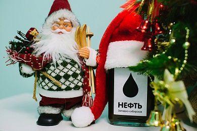 """Сувенир """"Подарочная бутылка Нефть"""""""