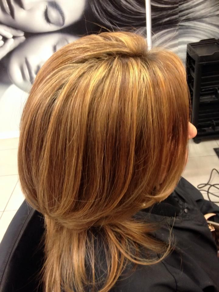 Une coiffure qui vaut de l'or! Technique de mèches demi tête doré par la magnifique Maryline Gauthier du Salon Odyssée GLAM!