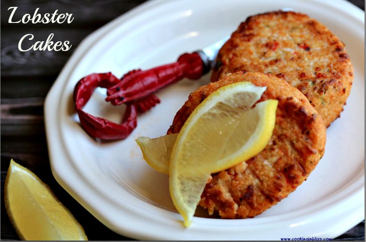 Lobster Cakes tasty and easy http://cookinginbliss.com/lobster-cakes/ #recipes