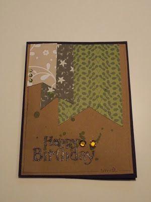 Winner - Palette #7 Scrap&Arte. Ricette creative: Card Happy Birthday