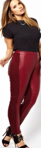 Брюки, джинсы для полных женщины - фото