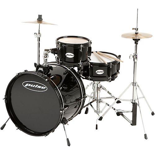 Pulse 3-Piece Deluxe Junior Drum Set
