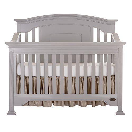 Evolur Sawyer 5-in-1 Convertible Crib Dove Grey