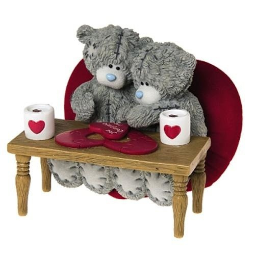 You Complete Me Me to You Bear Figurine