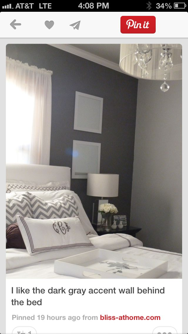 Grey room. Love this