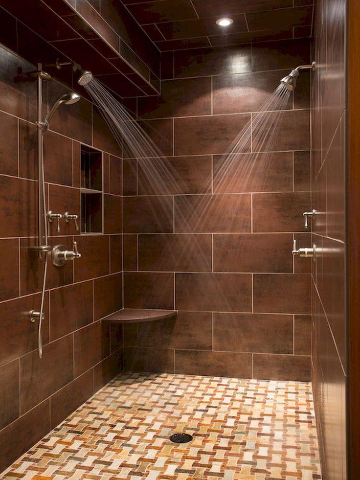 Adorable 100+ Luxury Subway Tile Shower Designs Ideas https://besideroom.com/2017/07/29/100-luxury-subway-tile-shower-designs-ideas/