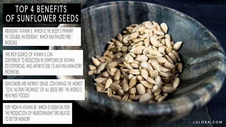 Benefits of sprouted sunflower seeds