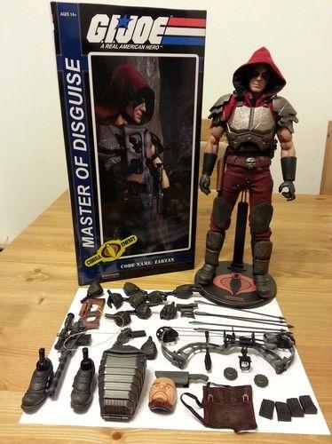 Sideshow Toys GI-Joe ZARTAN 1/6 Scale Military Figure Cobra Gijoe
