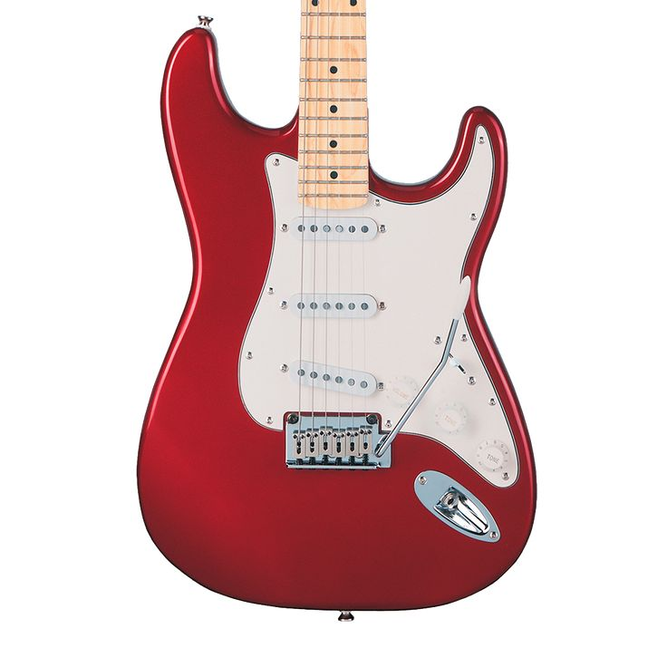 Squier Standard Stratocaster with Maple Fingerboard - Candy Apple Red