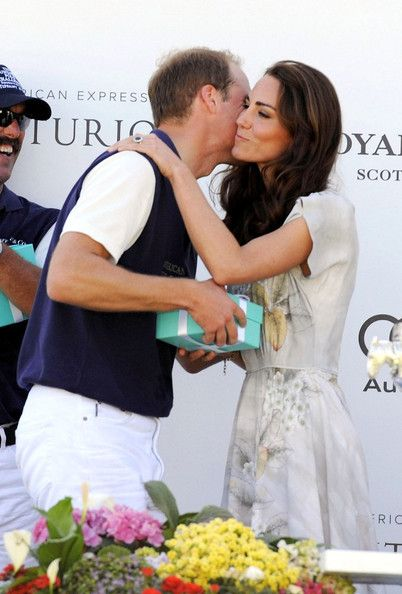 Kate Middleton Photos Photos - Prince William and Catherine, Duchess of Cambridge smile and enjoy themselves as they attend The Foundation Polo Challenge held at the Santa Barbara Polo & Racquet Club. - Famous Fans at The Foundation Polo Challenge