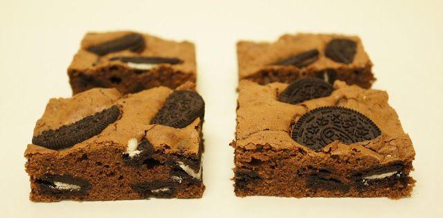 A culpa é das bolachas!: Brownies de Oreo