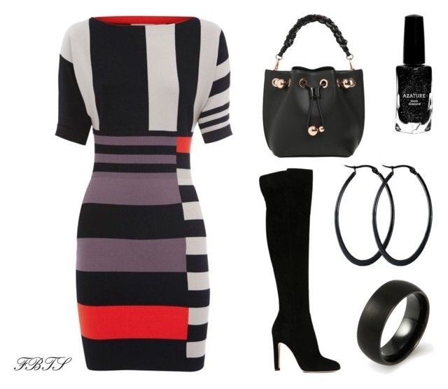 My Song by flybeyondtheskies on Polyvore featuring Gianvito Rossi, Sophia Webster and Azature