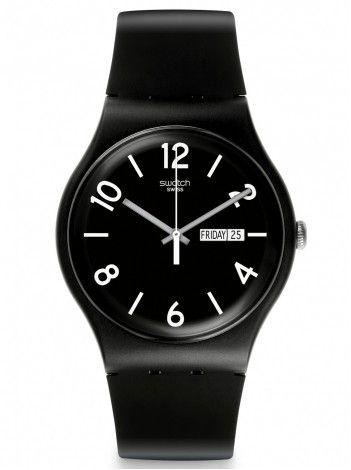 SWATCH Backup Black http://kloxx.gr/brands/swatch-1/swatch-backup-black-rubber-strap-suob715