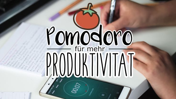 Besser, Konzentrierter & Produktiver Arbeiten und Lernen mit der Pomodoro Technik. Video von Laura Cardea. www.dearlife.de