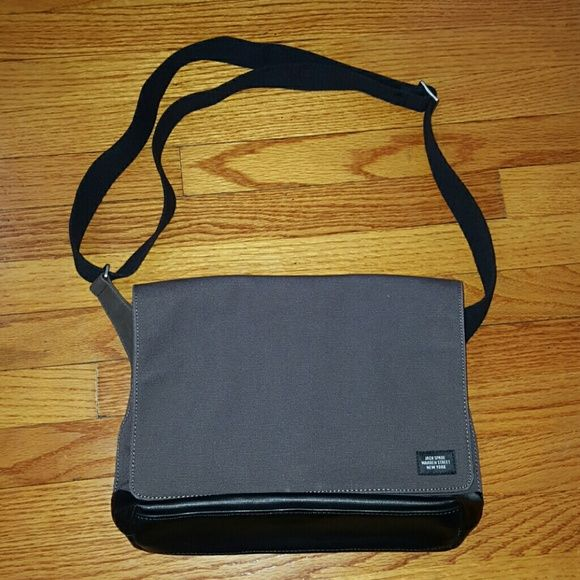 Brown Jack Spade Canvas Crossbody Messenger Bag About 13x10 kate spade Bags