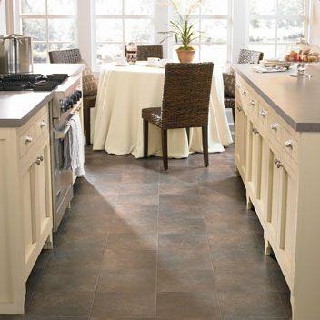 70 best mannington floors images on pinterest vinyl for Kitchen vinyl floor tiles