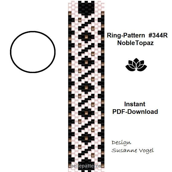 The 25 best discount codes ideas on pinterest discount coffee peyote ring patternpdf download 344rnobletopaz beading fandeluxe Choice Image