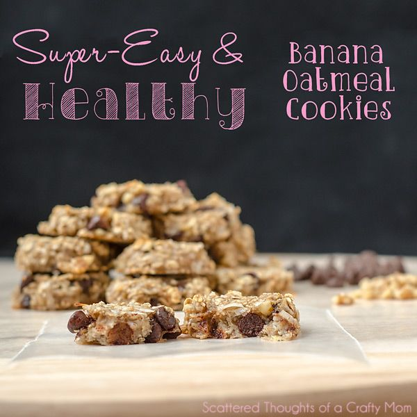 No butter/no sugar? This is a must try... 2 ingredient super Healthy Banana and Oatmeal cookies. Perfect as an afternoon snack for the little ones.