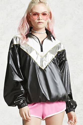 Metallic Anorak Jacket Jetzt bestellen unter: https://mode.ladendirekt.de/damen/bekleidung/jacken/sonstige-jacken/?uid=de6b26de-1b9e-5860-8a52-46a8fd4e639f&utm_source=pinterest&utm_medium=pin&utm_campaign=boards #women's #accessories #clothing #outerwear #sonstigejacken #bekleidung #jacken