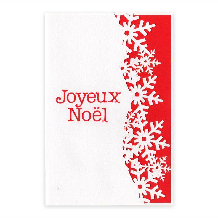1000 id es sur le th me motifs de flocons de neige de papier sur pinterest flocons de neige en - Carte noel personnalisee ...