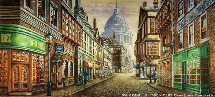 Backdrop SW 026-S Old London Street 1 | Streets of the ...