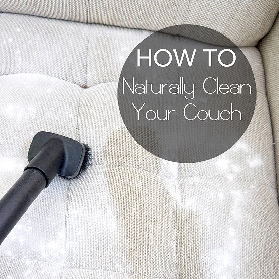 Deep Clean Your Natural-Fabric Couch For Better Snuggling