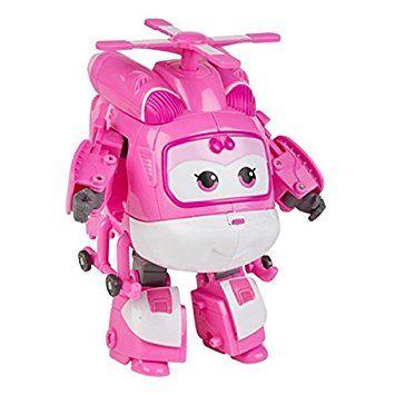 Super Wings  Dizzy personaje transformable 10.5 cm color rosa y blanco (ColorBaby 75875) Ver Chollo http://amzn.to/2BTN1Ym   Dizzy personaje transformable Super Wings con ruedas para deslizarse por superficies planas Se convierte en robot con brazos y piernas; si quieres que vuele guarda sus extremidades y se convierte en Super Wings Dizzy con un ancho de 105 cm es de color rosa y blanco Fabricado con: plástico (95%) y metal (5%) Juguete educativo de la exitosa serie de dibujos animados que…