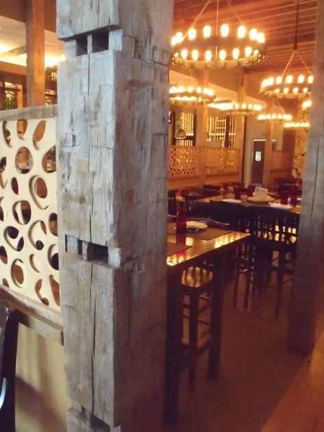 restaurant design gallery pioneer millworks - Beaded Inset Restaurant Decoration