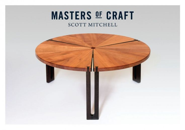 Dove Table, Scott Mitchell. Bungendore Wood Works Gallery 2013