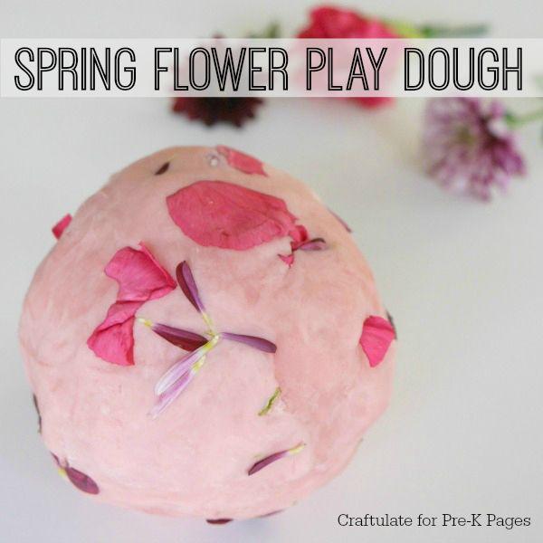 Spring Flower Play Dough | Kids Activities | Sensory Play |
