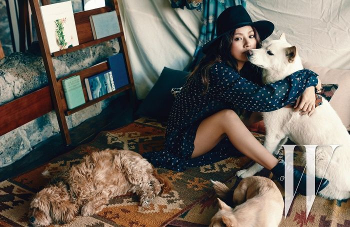 Lee Hyori for W Korea - April 2015
